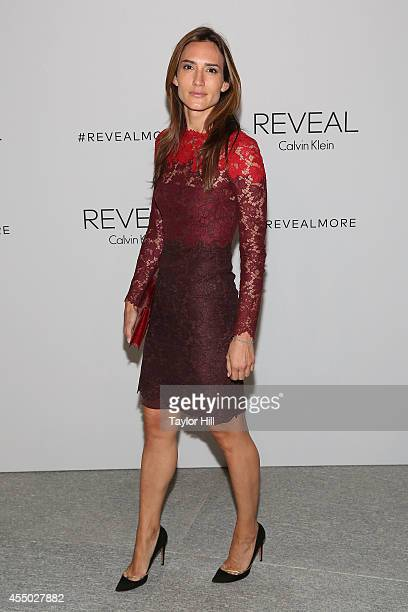 Zani Gugelmann attends the REVEAL Calvin Klein Fragrance Launch Party at 4 World Trade Center on September 8 2014 in New York City