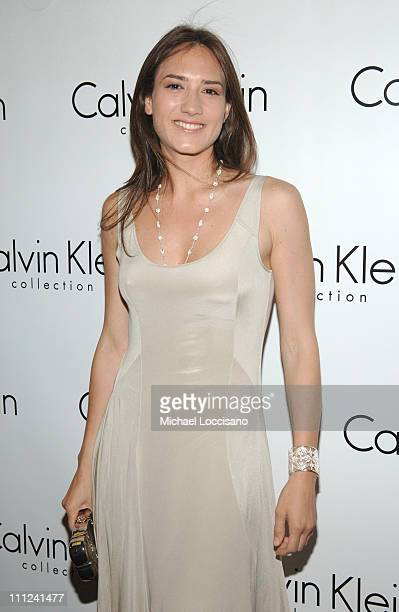 Zani Gugelmann during Calvin Klein Inc and Bryan Adams Host the Launch of His New Photography Book American Women at The Calvin Klein Collection...