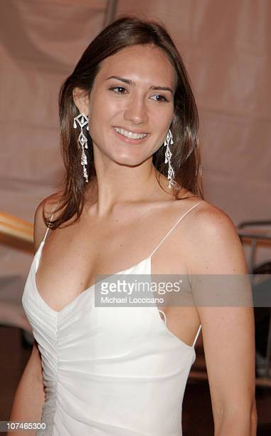 Zani Gugelmann during Chanel Costume Institute Gala Opening at the Metropolitan Museum of Art Departures at The Metropolitan Museum of Art in New...