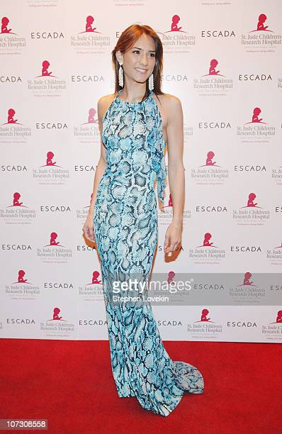 Zani Gugelmann during Escada Showing and Cocktail Reception of Fall/Winter 2006 Collection Benefiting St Jude Research Hospital at Pink Elephant in...