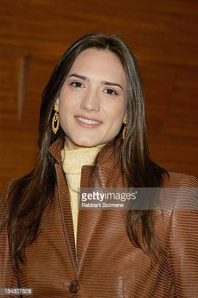 Zani Gugelmann during HP and Barneys Unveil a Line of Accessories by Proenza Schouler Habitual and Behnaz Sarafpour at Barneys in New York City New...
