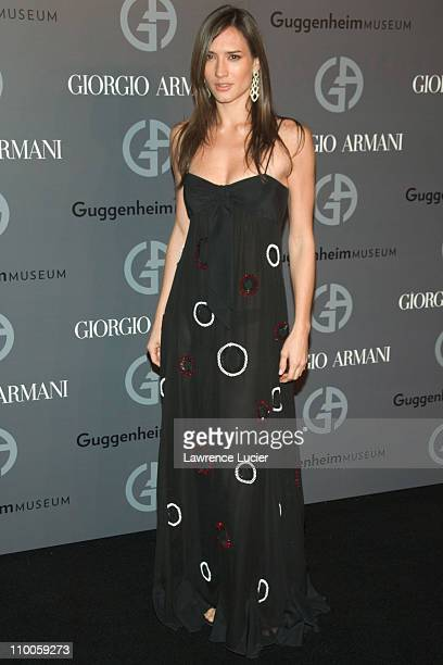 Zani Gugelmann during Solomon R Guggenheim Museum's Young Collectors Council 2006 Artists Ball Sponsored By Giorgio Armani at Solomon R Guggenheim...