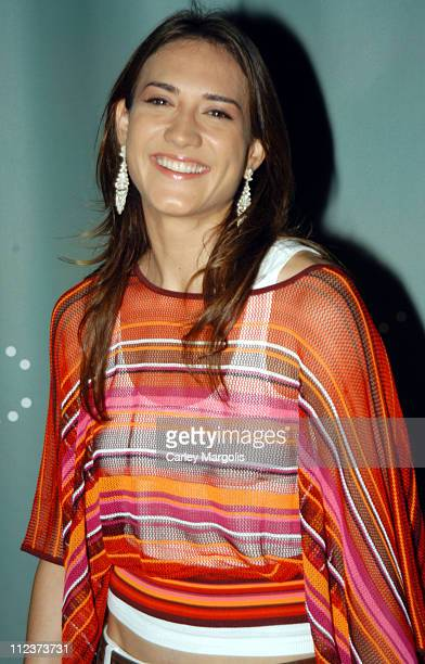 Zani Gugelmann during Stella McCartney Launches her New Sports Performance Line With Adidas at Sky Studios in New York City New York United States