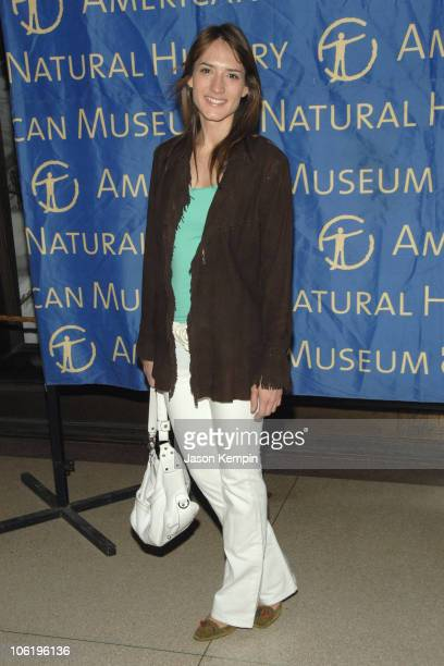Zani Gugelmann during The 17th Annual SPRING Environmental Lecture And Luncheon April 25 2007 at The Museum Of Natural History in New York City New...