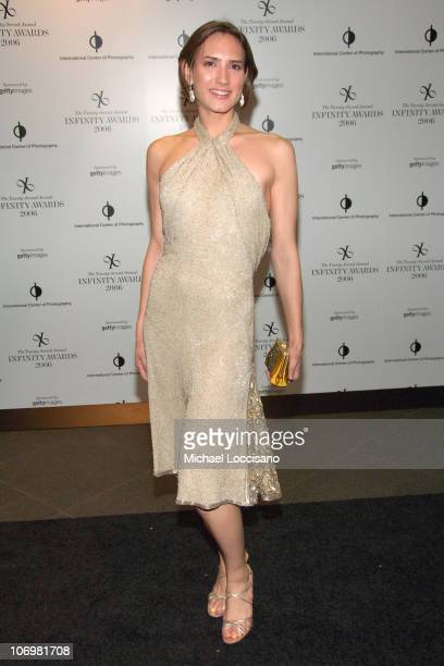 Zani Gugelmann during The 22nd Annual Infinity Awards Presented by The International Center of Photography at Chelsea Piers in New York City New York...