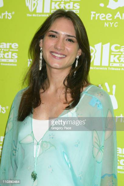 Zani Gugelmann during The 6th Annual Annual Art Auction Benefit Inside Arrivals at Phillips de Purry Company in New York City New York United States