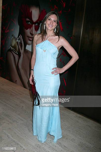 Zani Gugelmann during Valentino Fragrance Launch Party For Valentino V at Four Seasons in New York City New York United States