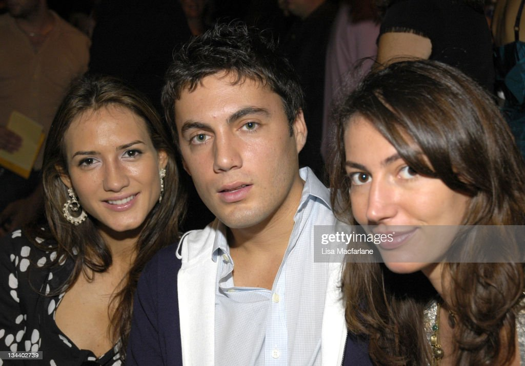 Olympus Fashion Week Spring 2006 - Michael Kors - Front Row and Backstage : Photo d'actualité
