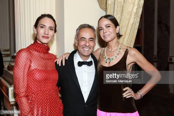 Zani Gugelmann Francisco Costa and Allison Sarofim during the Casita Maria Fiesta 2018 at The Plaza Hotel on October 16 2018 in New York City