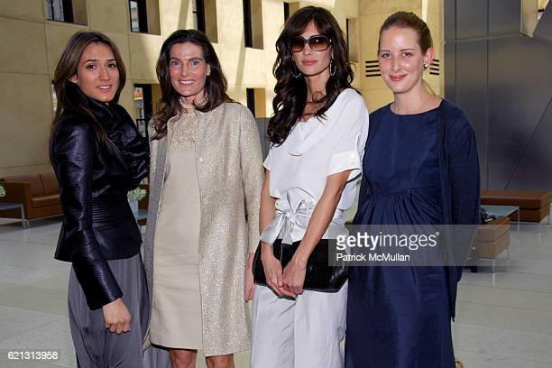 Zani Gugelmann Jennifer Creel Eugenia Silva and Jacqueline Sackler attend Fashion Institute of Technology Presents the First Couture Council Award...