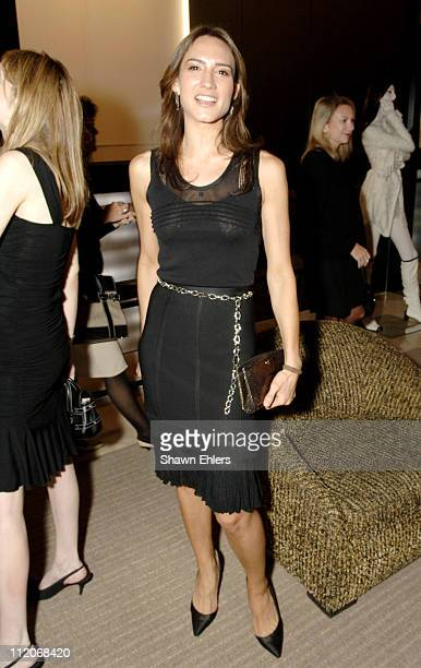 Zani Gugleman during 80th Anniversary of CHANEL'S Little Black Dress at CHANEL in New York City New York United States