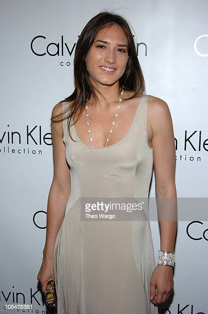 Zani Guglemann during Calvin Klein Inc and Bryan Adams Celebrate American Women Book Launch at Calvin Klein Collection in New York City New York...