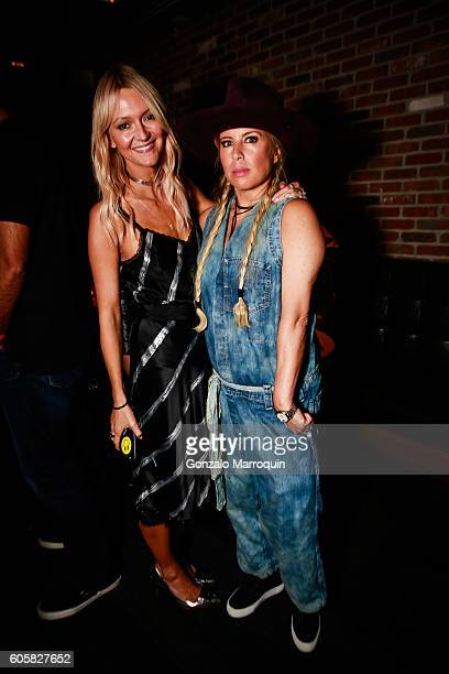 Zanna Roberts Rassi and AnneMarie Dacyshyn at the MADE New York Celebrates Fashion Week Party on September 14 2016 in New York City