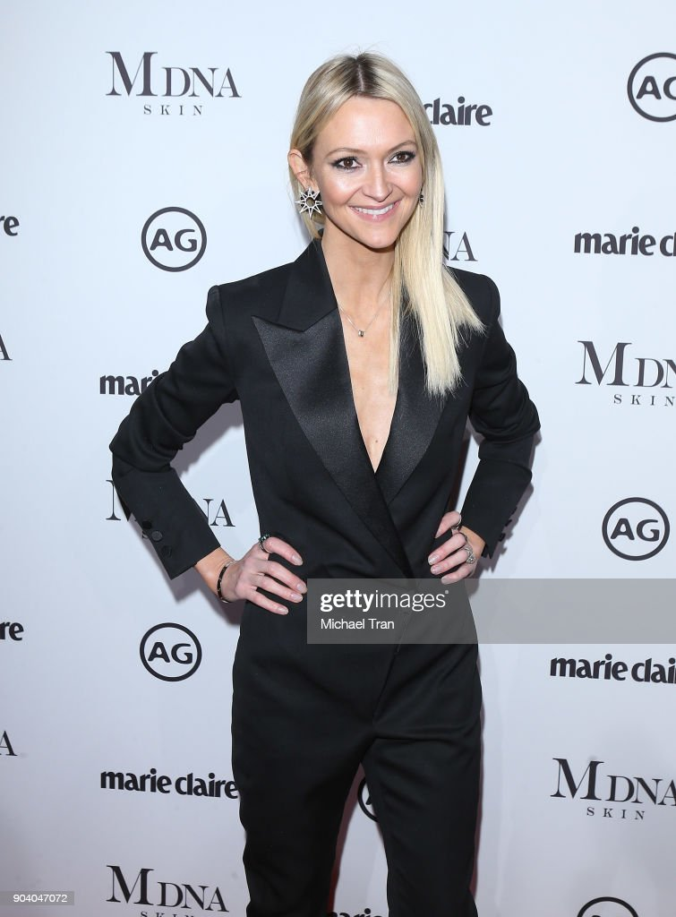 Zanna Roberts Rassi arrives to the Marie Claire's Image Maker Awards 2018 held at Delilah on January 11, 2018 in West Hollywood, California.