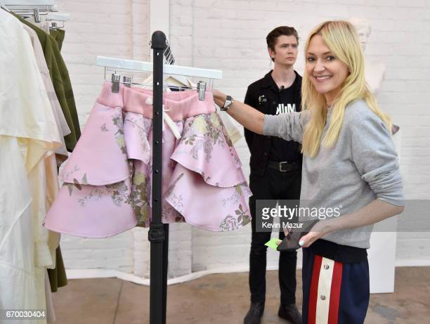 Zanna Roberts Rassi at the FENTY PUMA by Rihanna Experience on April 18 2017 in Los Angeles California