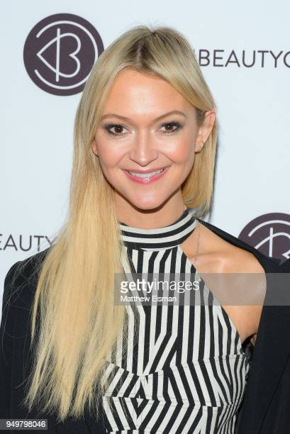 Zanna Roberts Rassi attends Beautycon Festival NYC 2018 Day 1 at Jacob Javits Center on April 21 2018 in New York City