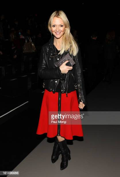 Zanna Roberts Rassi attends Marc By Marc Jacobs during Fall 2013 Mercedes-Benz Fashion Week at The Theater at Lincoln Center on February 11, 2013 in...
