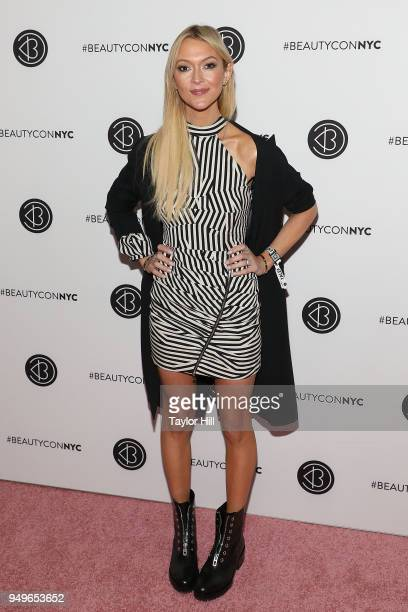 Zanna Roberts Rassi attends the 2018 Beautycon NYC at The Jacob K Javits Convention Center on April 21 2018 in New York City