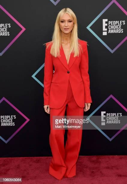 Zanna Roberts Rassi attends the People's Choice Awards 2018 at Barker Hangar on November 11 2018 in Santa Monica California