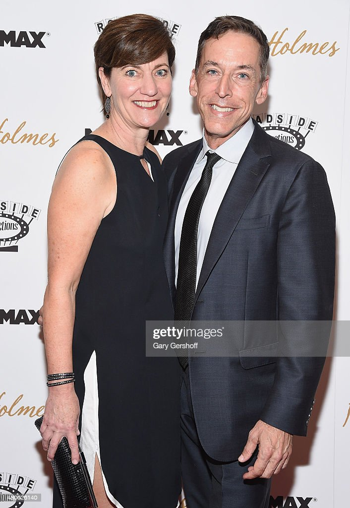 Zanne Devine and Steve Schoch attend the 'Mr. Holmes' New York Premiere at the Museum of Modern Art on July 13, 2015 in New York City.