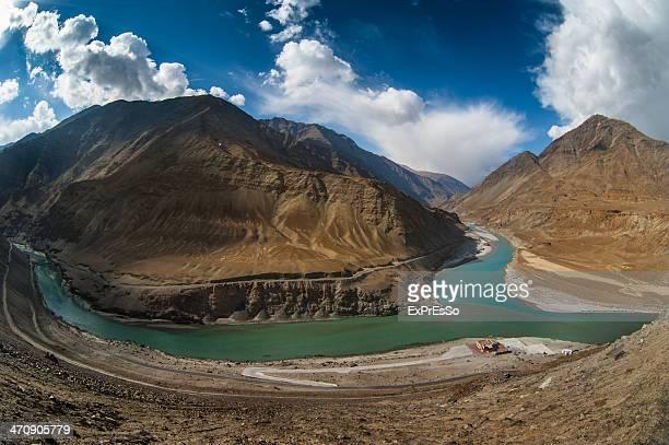 Zanskar and Indus rivers - Leh, Ladakh, India
