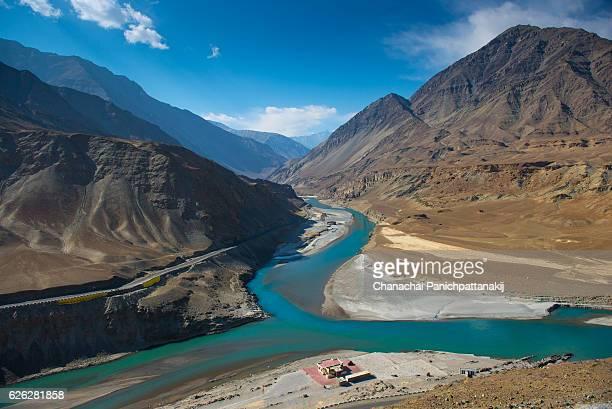 Zanskar river, Ladakh, India