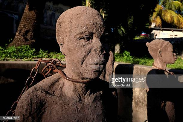 zanzibar - slaves in chains stock pictures, royalty-free photos & images