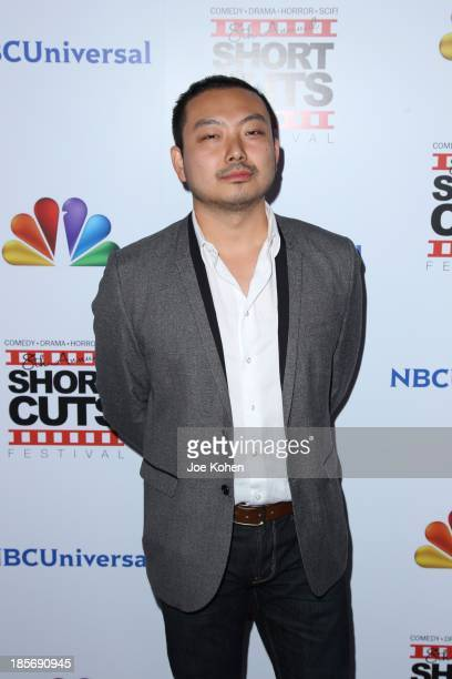 Zao Wang attends NBC Universal's 8th Annual Short Cuts Festival Grand Finale at DGA Theater on October 23 2013 in Los Angeles California