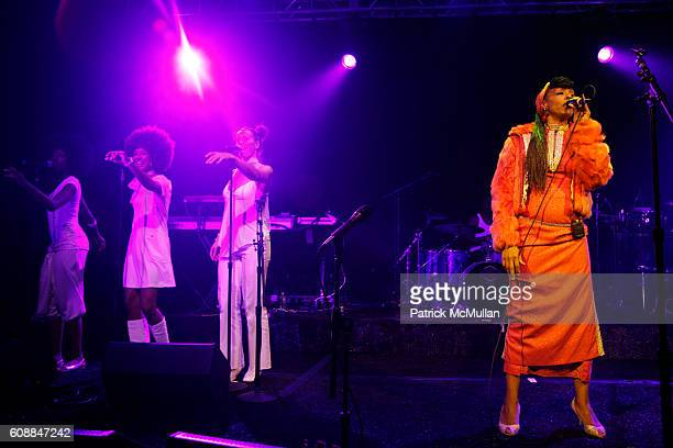 Zap Mama and Performance attend CONDE NAST TRAVELER Readers' Choice Awards & 20TH Anniversary Party at Cooper-Hewitt National Design Museum on...