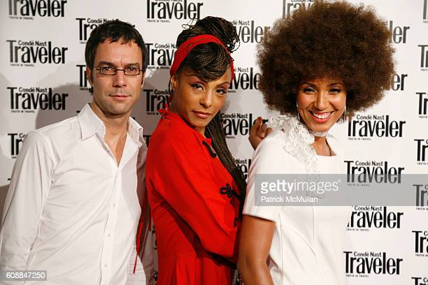 Zap Mama attends CONDE NAST TRAVELER Readers' Choice Awards & 20TH Anniversary Party at Cooper-Hewitt National Design Museum on October 10, 2007 in...