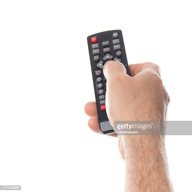 Zapping with tv remote control