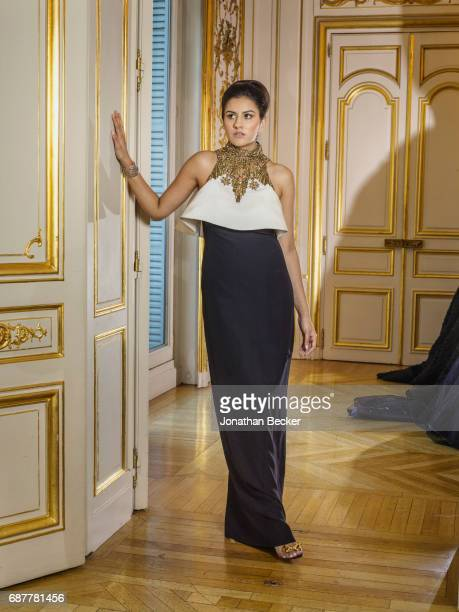 Zara Fistolera is photographed for Vanity Fair Magazine on November 28 2015 at the Palais de Chaillot in Paris France PUBLISHED IMAGE