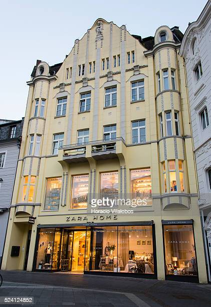 Zara Home store in Remigiusplatz, Bonn, Germany, 08 September 2014. Bonn, that offers many touristic attractions, was founded in the first century BC...