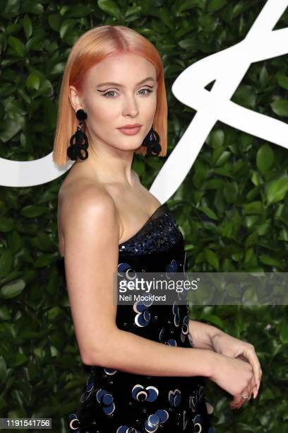 Zara Larsson arrives at The Fashion Awards 2019 held at Royal Albert Hall on December 02, 2019 in London, England.