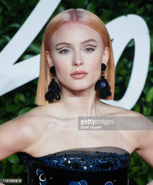 Zara Larsson arrives at The Fashion Awards 2019 held at Royal Albert Hall on December 02 2019 in London England