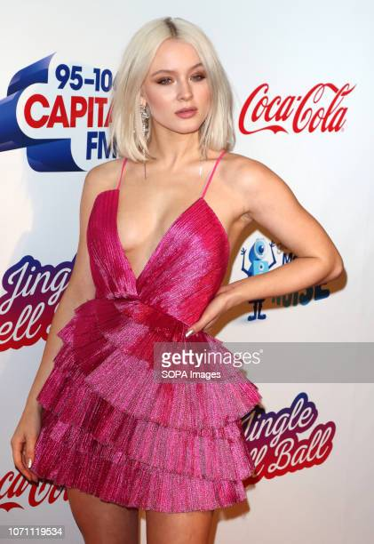 Zara Larsson at Capital's Jingle Bell Ball with CocaCola during day two at The O2 Peninsula Square