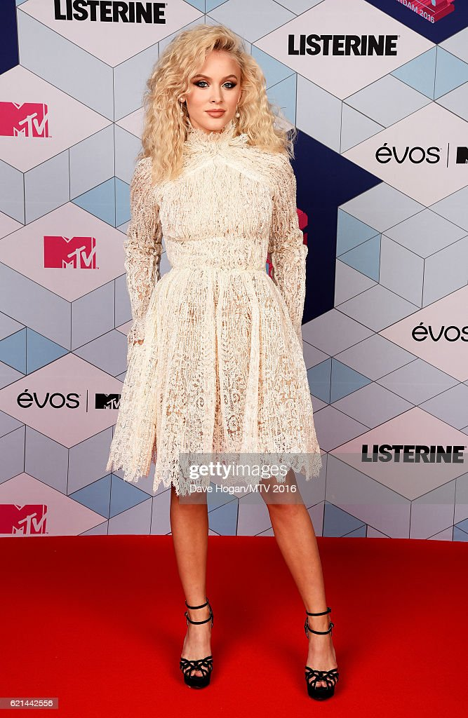 Zara Larsson attends the MTV Europe Music Awards 2016 on November 6, 2016 in Rotterdam, Netherlands.