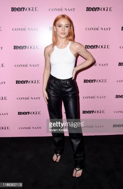 Zara Larsson attends the Teen Vogue Summit 2019 at Goya Studios on November 03, 2019 in Los Angeles, California.