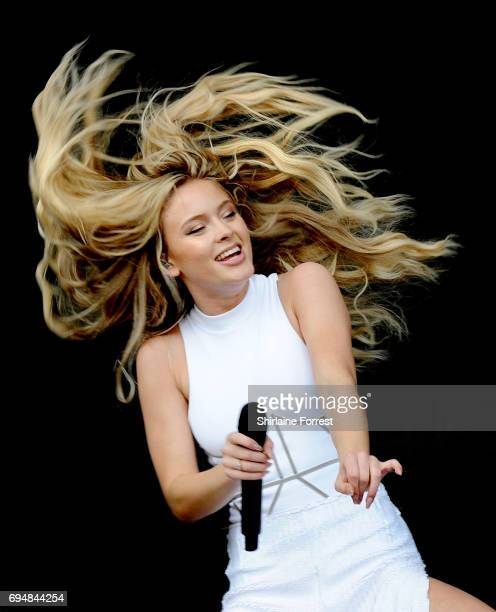 Zara Larsson performs at Parklife Festival 2017 at Heaton Park on June 11 2017 in Manchester England