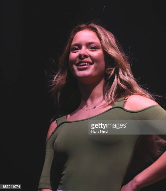 Zara Larsson performs at Portsmouth Guildhall on October 27 2017 in Portsmouth England