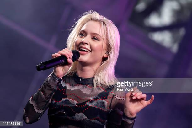 Zara Larsson performs at the 2019 Capital Pride Concert on June 09, 2019 in Washington, DC.