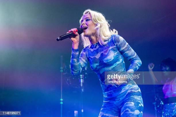 Zara Larsson performs at The Fonda Theatre on April 30, 2019 in Los Angeles, California.