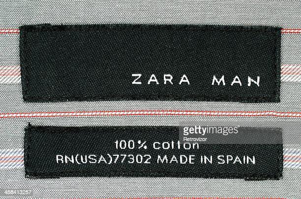 Zara logo sur le T-shirt label