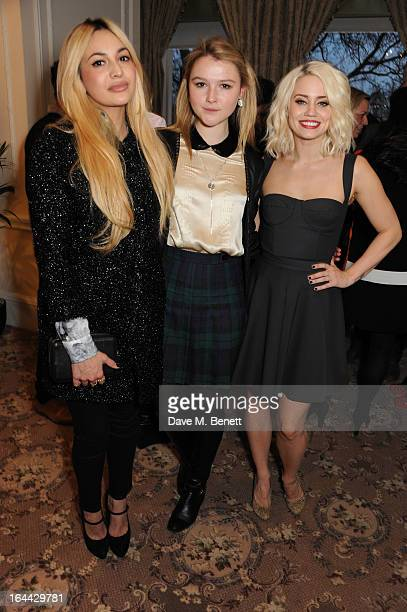 Zara Martin Amber Atherton and Kimberly Wyatt attend the launch of WHOLE WORLD Water a global three year intiative to address the worlds clean water...