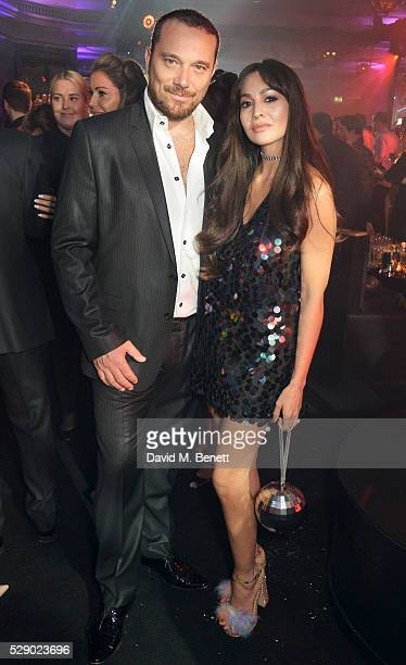 Zara Martin and fiance attend a Studio 54 party hosted by Jess Imerman at The Dorchester on May 7 2016 in London England