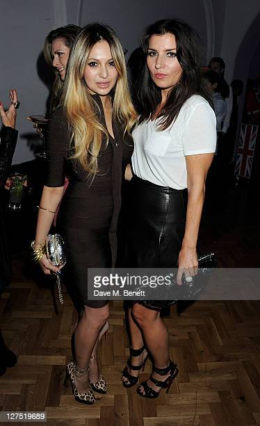 Zara Martin and Grace Woodward attend the Quintessentially Awards 2011 at One Marylebone on September 28 2011 in London England