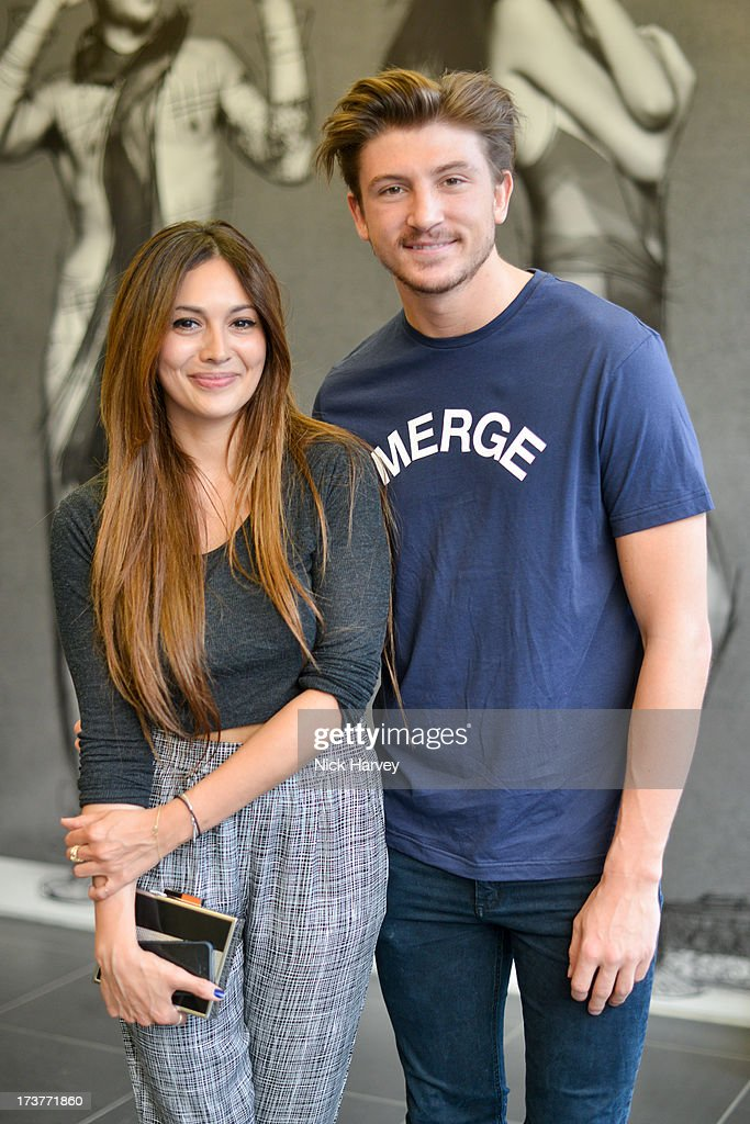 Zara Martin and Tom Gilbey attend the campaign launch party for French Connection & Rankin Full Service on July 17, 2013 in London, England.
