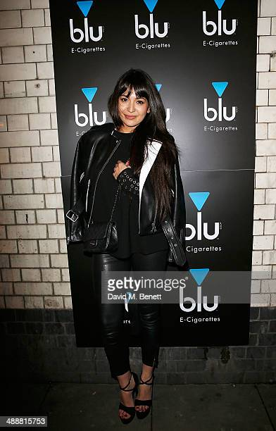 Zara Martin at the official UK launch of blu eCigs the premier global electronic cigarette and the start of the brand's forthcoming UK music tour at...