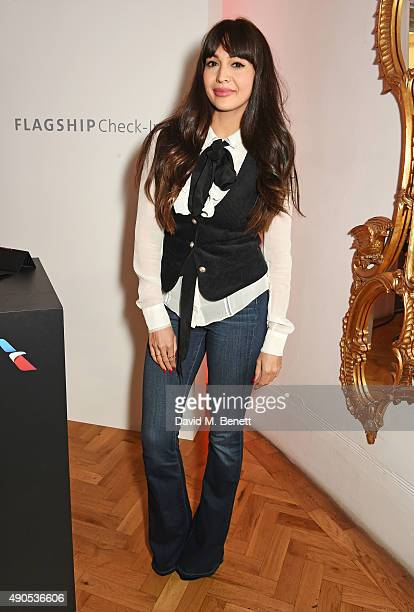 Zara Martin attends Above / Beyond hosted by American Airlines at One Marylebone on September 29 2015 in London England