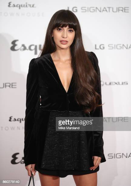 Zara Martin attends the Esquire Townhouse with Dior party at No 11 Carlton House Terrace on October 11 2017 in London England
